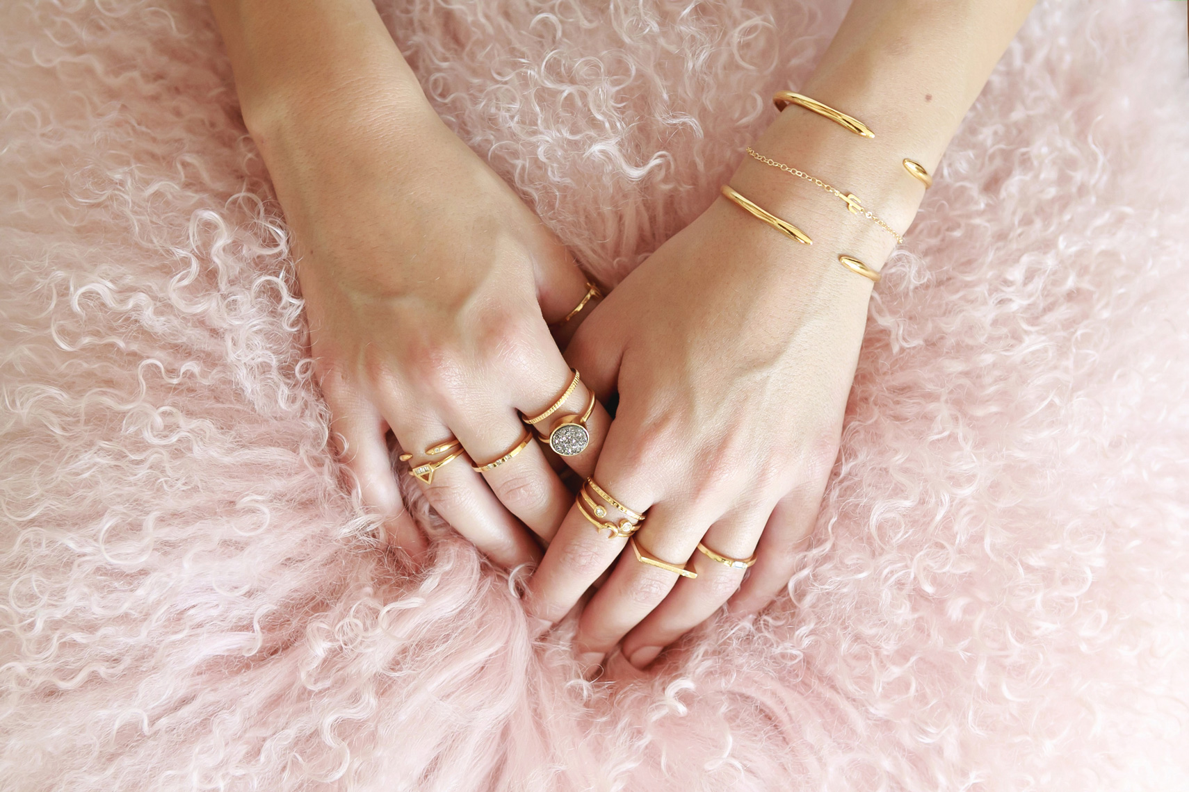 RB_Stacked-rings-Claw-cuff-and-Cactus-bracelet